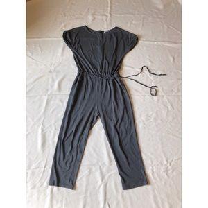 Zara trafaluc jumpsuit cotton sz:M fall women